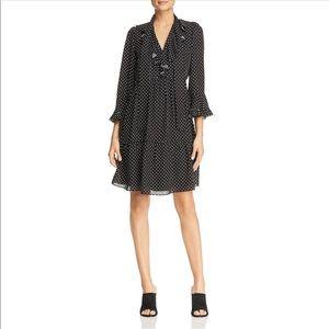 Dresses & Skirts - NWT Kobi Halperin Carmella Polka Dot Silk Dress